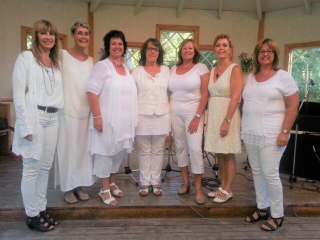Lördag den 14 augusti – Gospel-allsångskväll med Gospel Ladies